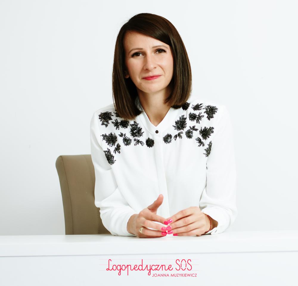 Logopeda Łódź - Joanna Muzykiewicz
